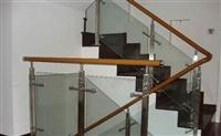 广州玻璃栏杆厂家,玻璃扶手栏杆安装