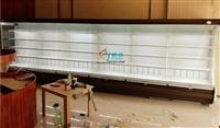 超市蔬果区展示柜,开放式水果展示柜,蔬菜立式风冷保鲜柜