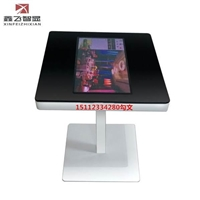 无人餐厅自助点餐桌液晶显示屏智能餐桌收银一体机智能咖啡桌