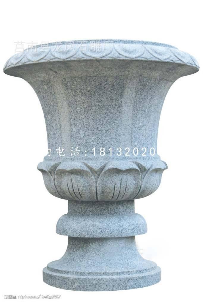 欧式花盆,大理石花钵