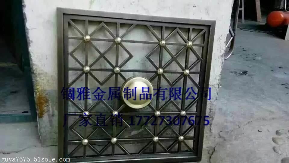 新款别墅欧式镂空雕花铝屏风