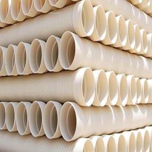 供甘肃PE双壁波纹管和兰州PVC双壁波纹