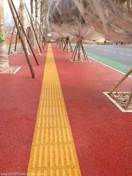 滨州彩色透水地坪铺装材料直销热线