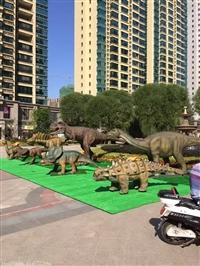 侏罗纪主题展仿真恐龙模型