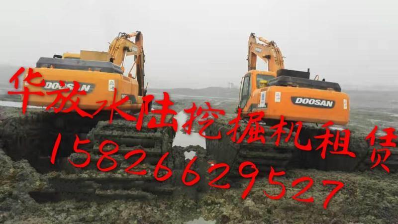湛江哪里有沼泽型挖掘机出租,水陆挖掘机出租 水挖机出租怎么样