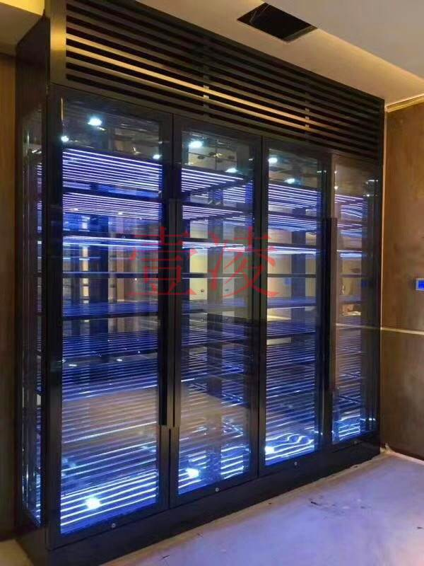 高端定制不锈钢酒柜 不锈钢酒架 不锈钢红酒柜