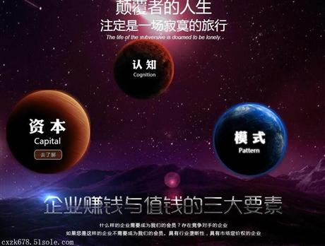 北京创享智库企业运营模式计划书