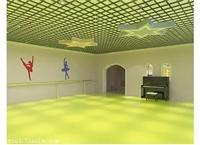 唐山舞蹈室专用地板革环保安全8年以上使用