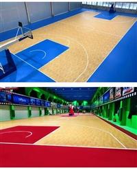 唐山室内中高档篮球馆专用运动地板胶