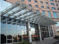 广州天河钢结构玻璃雨棚安装维修更换