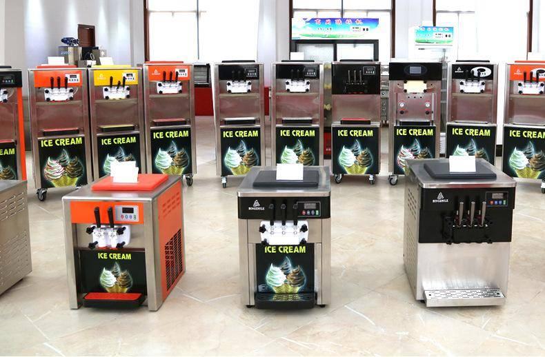 武汉冰淇淋机现货供应免费教技术