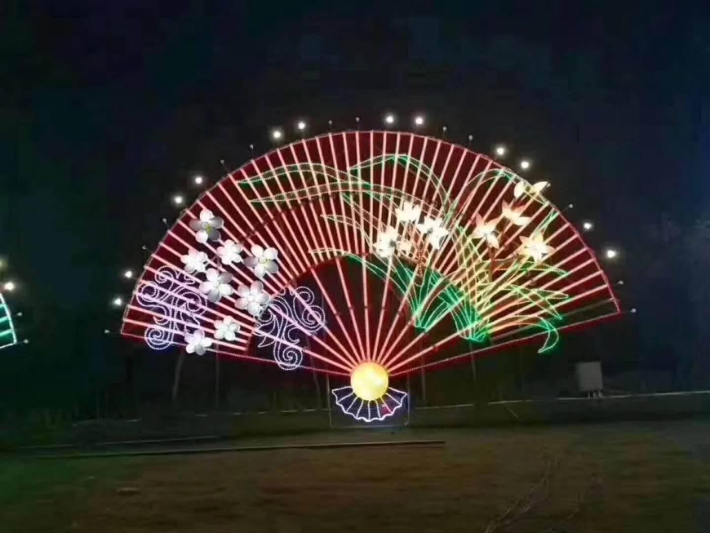 大型花灯制作led 造型灯动物春节动物造型灯十二生肖