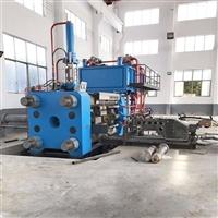 1000吨断桥铝加工设备意美德非标定制全套挤压机生产线