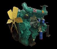 潍坊R6105AZLD柴油发动机 121kw 潍柴水冷六缸柴油发电机组专用