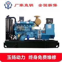 75kw柴油发电机组 潍柴电调水冷无刷发电机380v 75千瓦发电机组