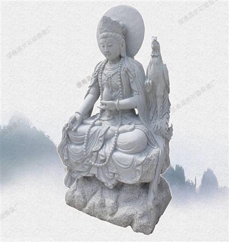 福建石雕佛像公司供应石雕观音像 石雕菩萨生产商批发