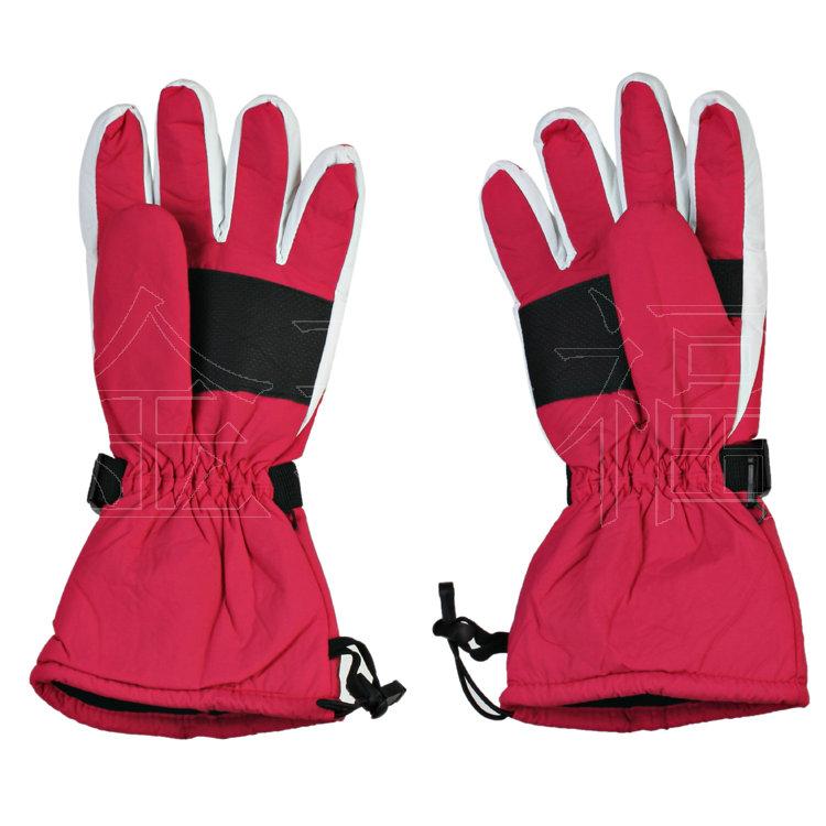 交警专用款充电自发热保暖五指手套