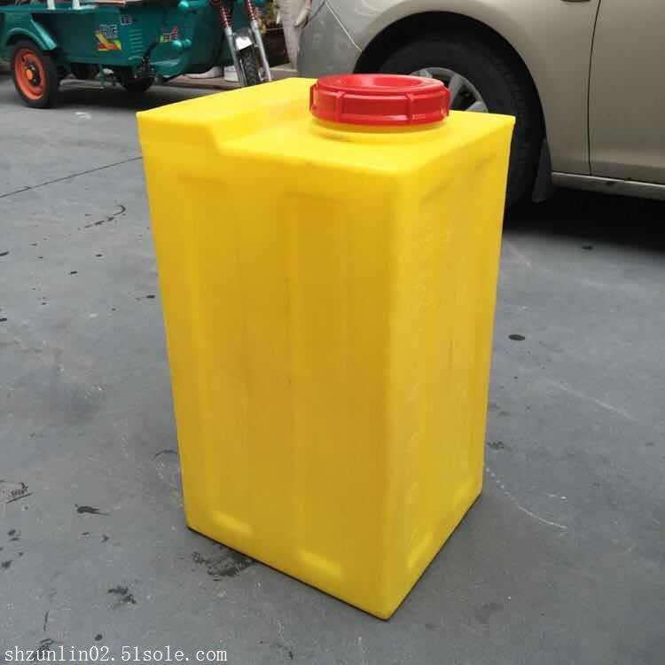 深圳80L方形塑料加药箱80L搅拌桶厂家