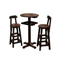 深圳餐厅吧台吧椅订做,单边靠墙吧台,屏风实木吧台定制厂商直销