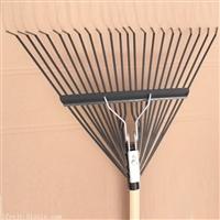 园林工具园艺耙子农用耙子22齿落叶耙子