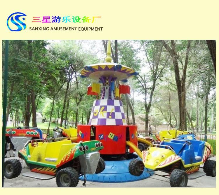 小型广场游乐项目弹跳汽车 网红爆款小型娱乐设施玩具