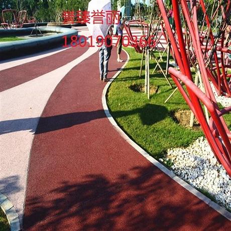 温州市誉臻彩色透水混凝土材料代理商价格实惠
