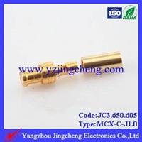 MCX-C-J1.0电缆连接器压接公头接