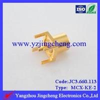 MCX-KE-2印制电路板连接器母头