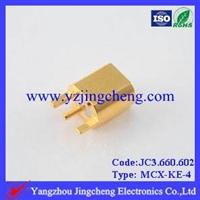 MCX-KE-4印制电路板连接器母头