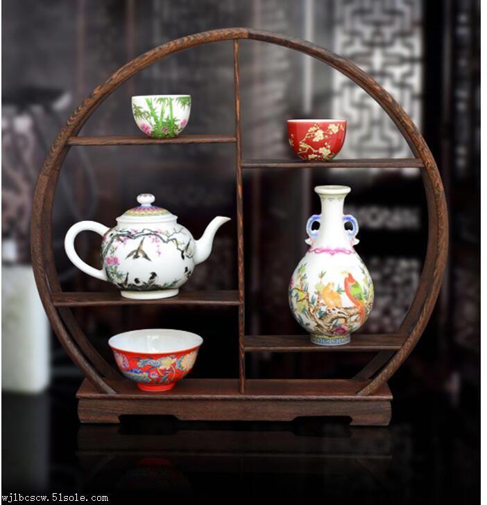 珐琅五绝珐琅彩珍藏瓷器