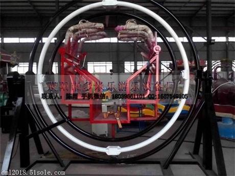 中小型游乐设备三维太空环新款电动摇滚环多米乐厂家供应