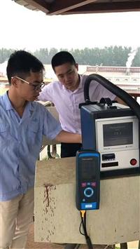 彩色触摸屏直读式烟尘检测仪直接读出烟尘浓度STM255