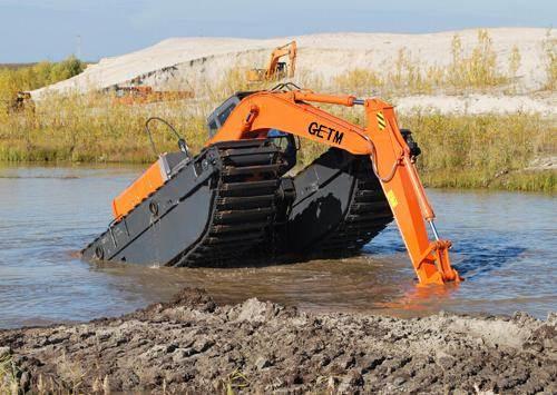 兴宁水上挖掘机出租,湿地挖掘机出租,水陆挖机出租 价格表
