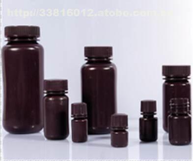 广东深圳棕色HDPE广口试剂瓶500ML大口瓶取样瓶塑料瓶批发