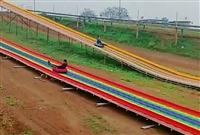 不受地區氣候影響四季飛躍旱雪滑道免費設計 七彩滑道設備