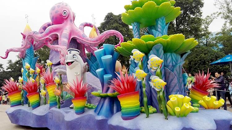景观雕塑定做 海洋主题雕塑