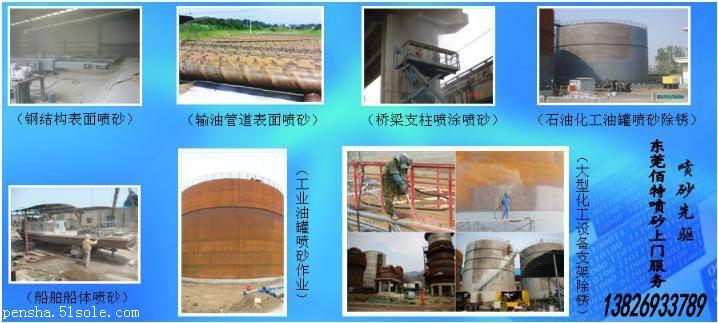 东莞上门喷砂加工厂,代客上门喷砂处理、承接东莞上门喷砂
