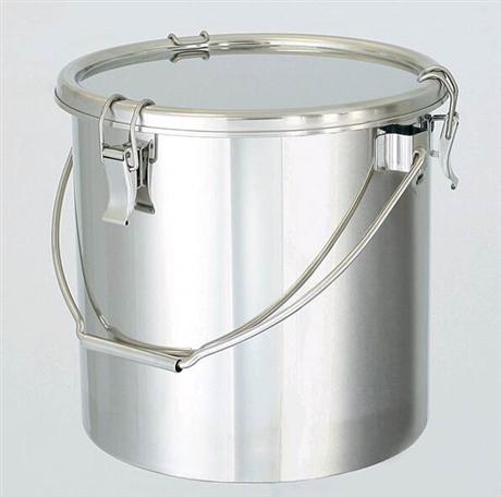 进口SUS304不锈钢密封罐 4L-25L带把手密封罐 实验用家用密封罐