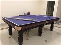 江蘇南京臺球桌出售 二手黑八臺球桌 九球 斯諾克統統有貨