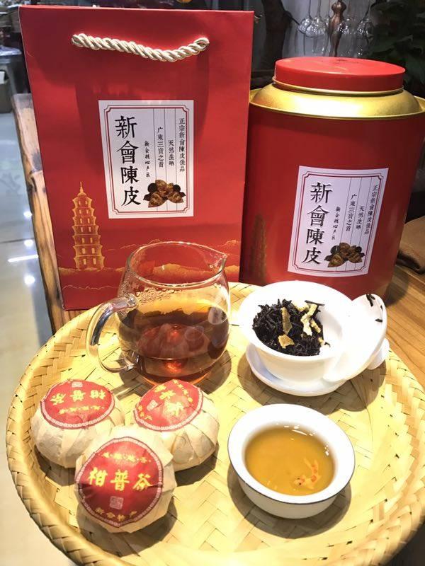 什么样的茶才是正宗新会柑普茶