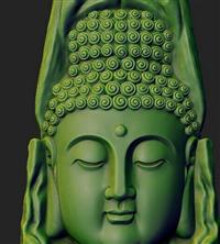 ZB軟件雕刻 超深浮雕雙面玉雕掛件