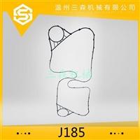 三森换热器密封件橡胶垫J185