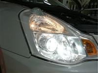 惠州车灯升级改装多少钱惠州爵视专业日产经典轩逸车灯改装升级