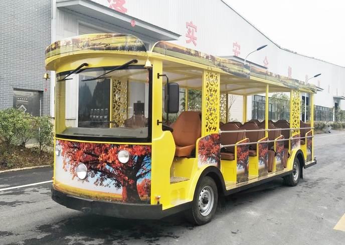 23座电动观光车 景区旅游观光车 电瓶车