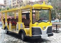 14座电动观光车 复古观光车 14座景区旅游观光车