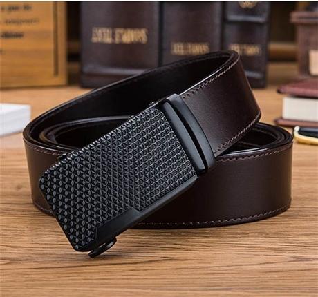 自动扣品牌皮带 高档皮带批发市场 厂家外贸腰带源头工厂