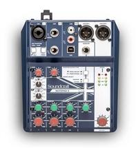 声艺 Notepad-5 Soundcraft 专业音视系统发布全新Notepad调音台