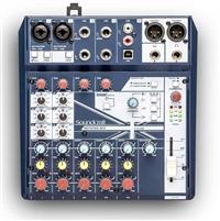 声艺 Notepad-8FX Soundcraft 主播调音台 声卡自带USB音频接口