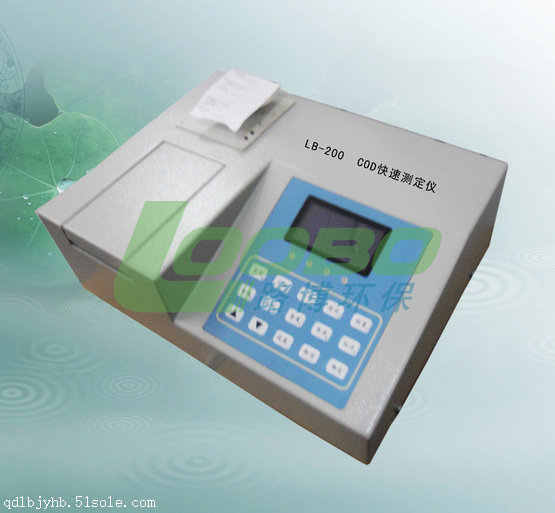 LB-200经济型COD速测仪的使用方法