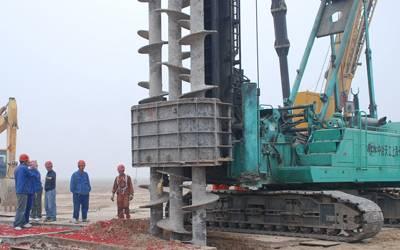 水磨钻施工构造及操作方案